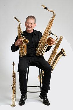 Soprano, Alto, Tenor and Baritone saxophones